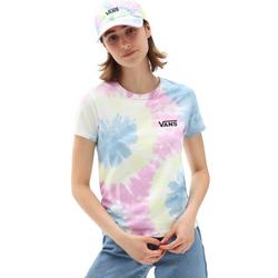 Vans T-Shirt SPIRALING WASH BABY TEE XL (42)