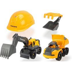 Dickie Toys Spielzeug-Auto Volvo Baustellen Spielset
