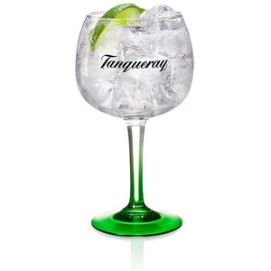 Tanqueray Longdrinkglas Tanqueray Copa Glas, Gin Tonic, Bauchiges, 500 ml