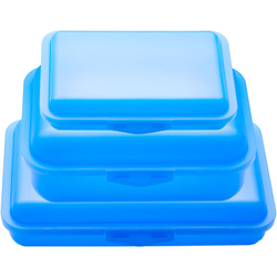JAKO-O Brotdosen-Set, blau - blau