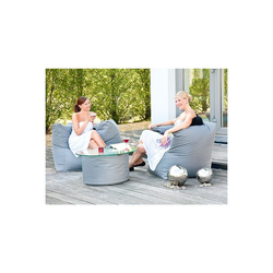 expendio Gartenmöbelset Caribbean, (1-tlg), anthrazit 90x65x90 cm aus witterungsbeständigen Materialien