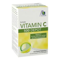 VITAMIN C 500 mg Depot Tabletten 120 St
