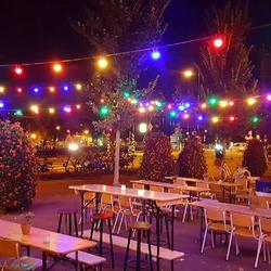 Patio 10m Lichterkette Bunt inkl. LEDs