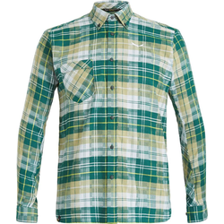 Salewa Fanes Flannel 3 PL Men L/S Shirt Hemd botan/monst/bl fog