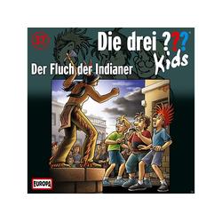 Die drei ??? Kids 37: Der Fluch der Indianer - (CD)