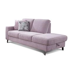 Vito Recamiere 2-Sitzer 2020 in rose,  inklusive Bettkasten