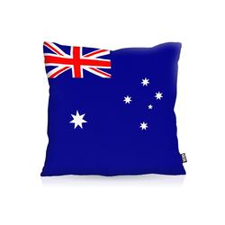 Kissenbezug, VOID, Australien Australia Flagge Fahne Fan-EM WM Sport 80 cm x 80 cm