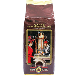 New York Kaffeebohnen Decaffeinato 500g