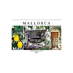 Mallorca - Mallorquinische Impressionen (Wandkalender 2021 DIN A4 quer)