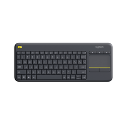 Wireless Touch Keyboard K400 Plus Black (US International)