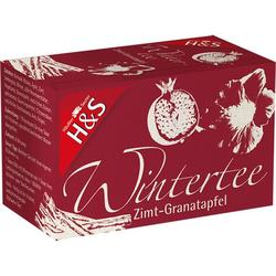 H&S Wintertee Zimt-Granatapfel Filterbeutel 20X2.0 g