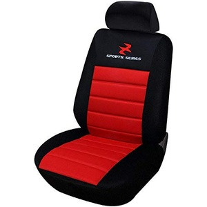 WOLTU AS7257 Sitzbezüge Auto Einzelsitzbezug universal Größe, Komplettset, rot