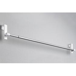 Spanngardinenstange clip ausziehbar weiß ca. 90-130 cm