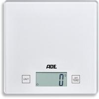 ADE Küchenwaage silber Arbeitsplatte Quadratisch Elektronische Küchenwaage