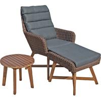 Garden Pleasure Calvia Lounge-Set braun