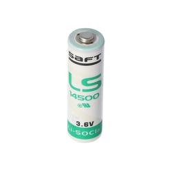Saft SAFT LS14500 Lithium Batterie Li-SOCI2, Size AA LS Batterie