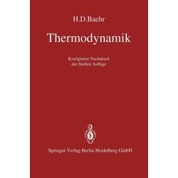 Thermodynamik: eBook von H. D. Baehr