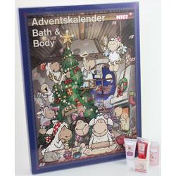 JOLLY MÄH Körperpflege Adventskalender - NICI Weihnachtskalender Schaf