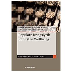Populäre Kriegslyrik im Ersten Weltkrieg - Buch