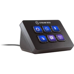 Elgato Stream Deck Mini Streaming Konsole Livestream-Funktion, Live-Kommentar-Funktion