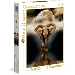 Clementoni® Puzzle High Quality Collection - Der Elefant, 1000 Puzzleteile, Made in Europe