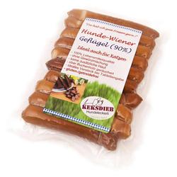 (2,05 EUR/100g) Keksdieb Hunde-Wiener mit Geflügel 180 g