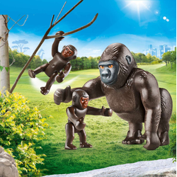 PLAYMOBIL Gorilla mit Babys