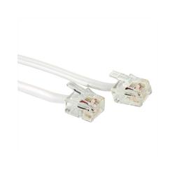VALUE RJ12-Kabel 6P4C Computer-Kabel, (1500.0 cm) 1500.0 cm