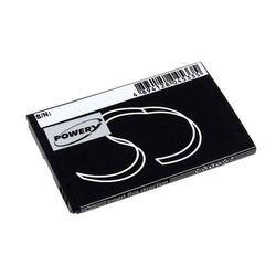 Powery Akku für ZTE MF30 A6 Wifi Router, 3,7V, Li-Ion