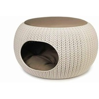 Curver Cozy Pet Home creme für