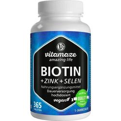 Biotin 10mg hochdosiert + Zink + Selen