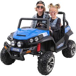 Kinder Elektroauto Maverick Offroad Buggy blau-kombi