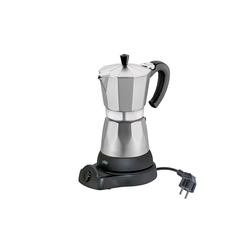 Cilio Espressokocher Elektrischer Espressokocher CLASSICO silberfarben