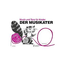 Musik und Tanz für Kinder: H.1 Der Musikater - Buch