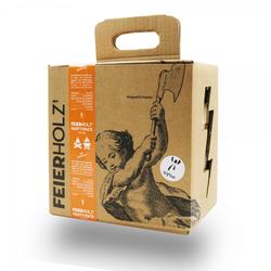 Feierholz Party-Pack, Buchenholz, für Lagerfeuer und Grill