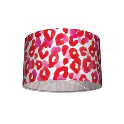 anna wand Lampenschirm Tisch- und Stehleuchten-Lampenschirm Leo-Light pink/rot 30x20 cm