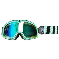 100% Crossbrille Barstow Ocean - Blau verspiegelt