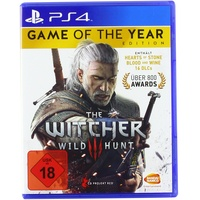 The Witcher III: Wild Hunt - Game of the Year Edition (USK) (PS4)