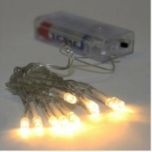 LED Lichterkette/Außen/Innen/20/Batterie/Draht/Micro/Timer/30/SMD/Flaschenkorken