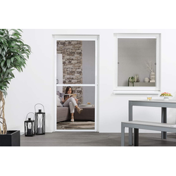 empasa Insektenschutz-Tür FLEX PLUS, Alurahmen - Selbstbausatz 100 cm x 210 cm