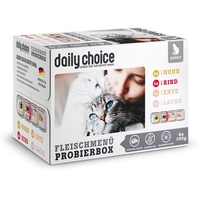 daily choice Fleischmenü Probierbox 6 x 100 g