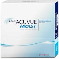 Acuvue Moist for Astigmatism 90 St. / 8.80 BC / 14.40 DIA / -2.75 DPT / -0.75 CYL / 180° AX