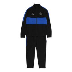 Jordan Sportanzug schwarz / blau, Größe 158, 4765353