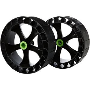 Railblaza 2x Sandtrakz Wheels, Reifen für C-tug weiche Gummireifen 50-0005-71