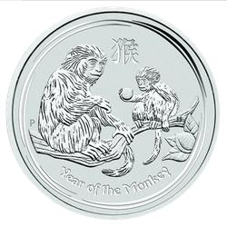 1 kg Silber Lunar II Affe 2016 (zollfrei)