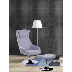 SIT Sessel Sit&Chairs, mit Hocker grau