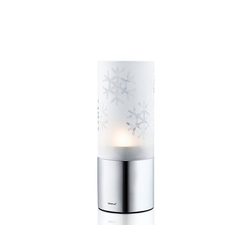 BLOMUS Teelichthalter Windlicht Schneekristall DECO