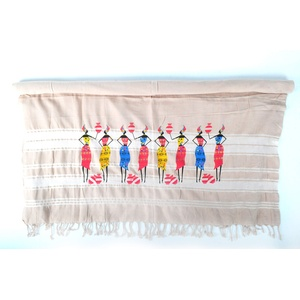 Bonamaison 100% Baumwolle Türkisches dünnes Hamamtuch, Pesthemal, Badetuch, Strandtuch, 100 X 172 cm - Hergestellt in der Türkei