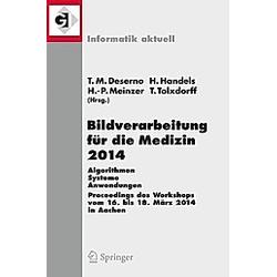 Bildverarbeitung für die Medizin 2014 - Buch