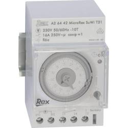 REX Zeitschaltuhren A26442 Hutschienen-Zeitschaltuhr 230V 16 A/250V
